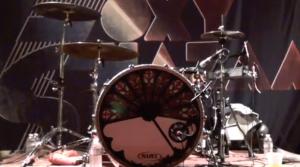 Aaron McVeigh's Drumset Foxy Shazam